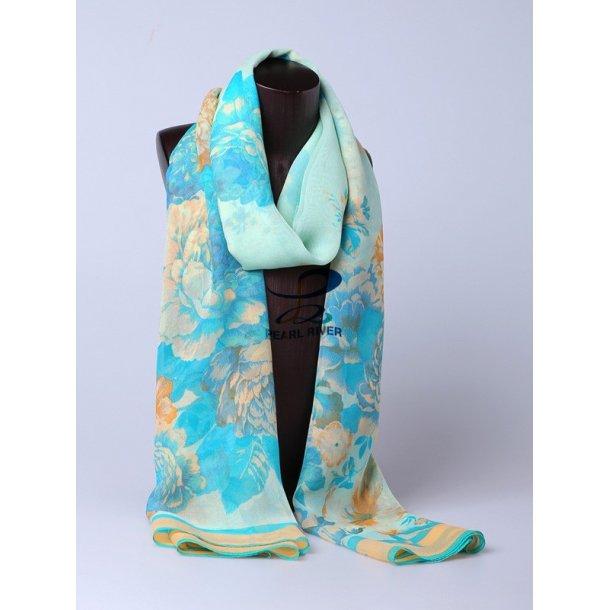 Slike georgette halstørklæder