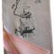 Silketørklæde med robåde broderier