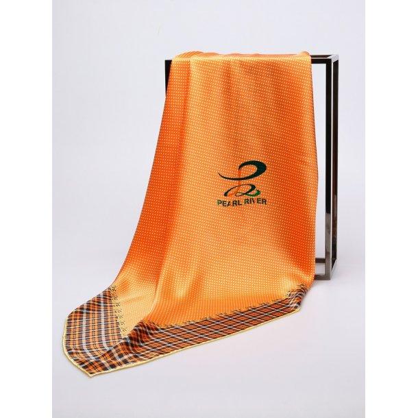 Store firkantede småternetsilketørklæder